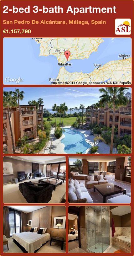 2-bed 3-bath Apartment in San Pedro De Alcántara, Málaga, Spain ►€1,157,790 #PropertyForSaleInSpain