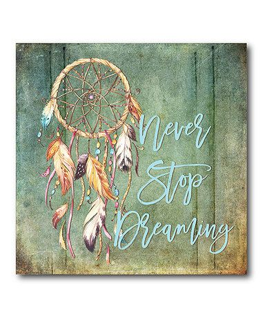 This Dream Catcher Wrapped Canvas is perfect! #zulilyfinds