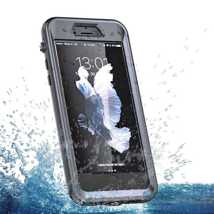 Sale 27% (10.99$) - Waterproof/Snowproof/Shockproof/Dirtproof Touch Screen Case For iPhone 7 Plus