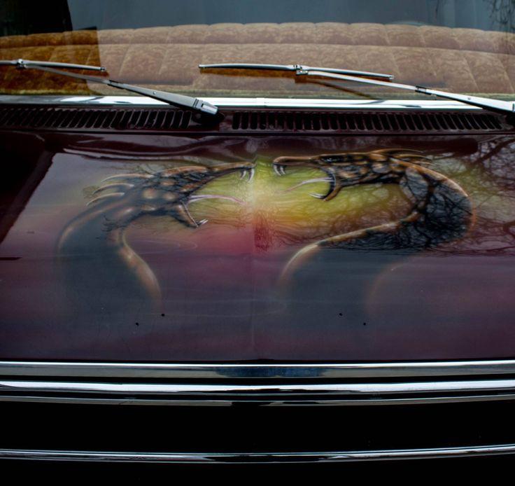 Best Mobile Art Images On Pinterest Mobile Art Custom Vans - Custom vinyl decals for car hoodscustom hood decals etsy