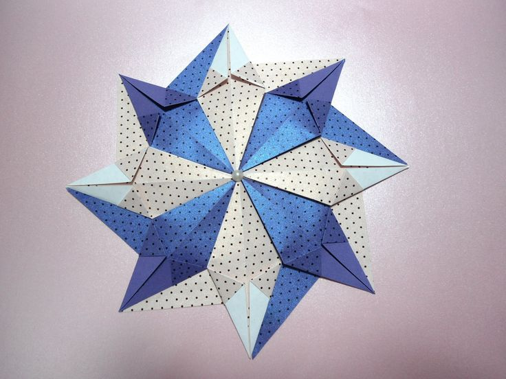 130 best patchwork origami images on pinterest fabric origami como fazer mandala estrelar de origami thecheapjerseys Gallery