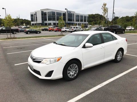Awesome Amazing 2012 Toyota Camry  2012 Toyota Camry LE (White) 2017/2018