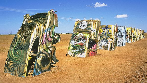 Cadillac Ranch  Amarillo, Texas  2007