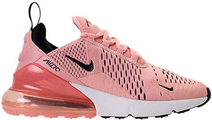 Best Price Womens Nike Air Max 270 Shoes Coral Stardust