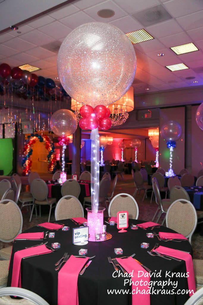 Sparkle Balloons & Aqua Gems