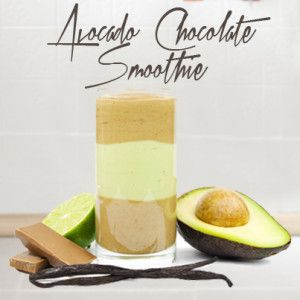 Chocolate Avocado Smoothie - Good Karma Foods