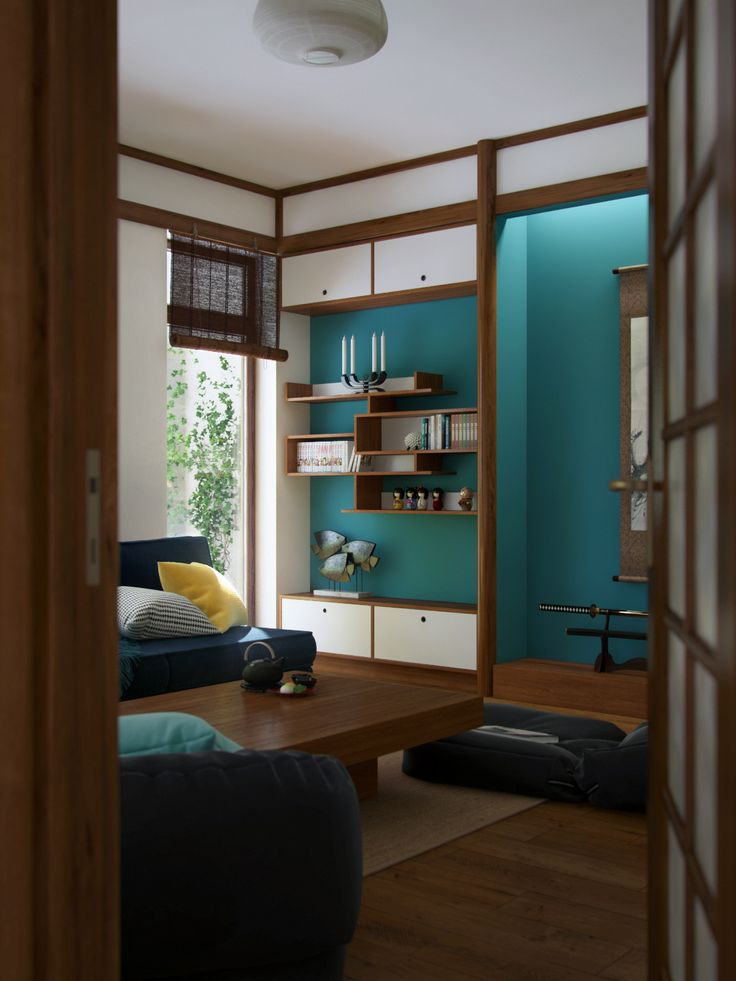 "Picture from ""Nihon no Kanji"" - project by interiordelight.ro. A Japanese inspired home"