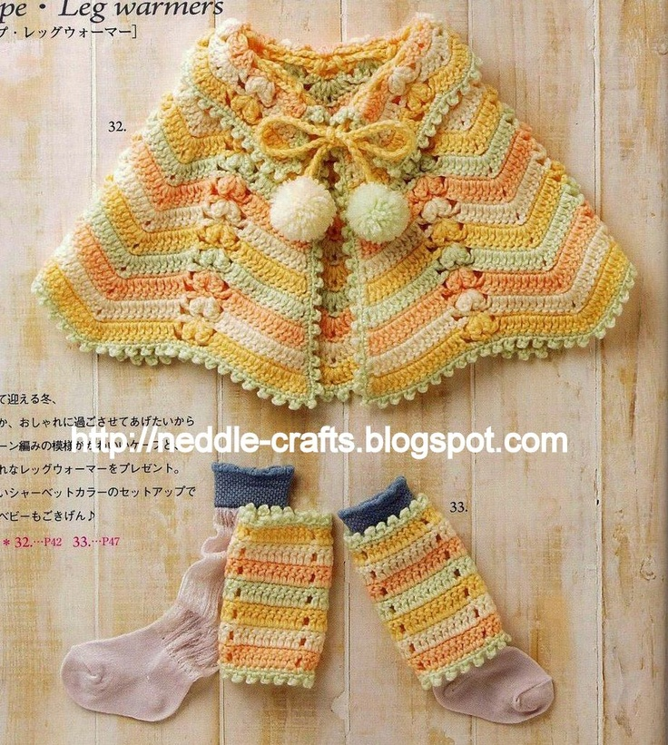 122 Best Crochet Ponchos Images On Pinterest Hand Crafts Crochet