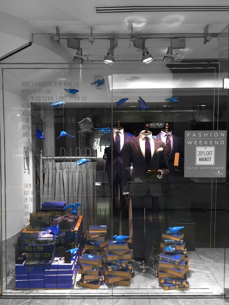 Hackett, London // Blue Bird in collaboration with Harlequin Design // September 2014