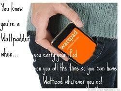 Wattpad wherever you go