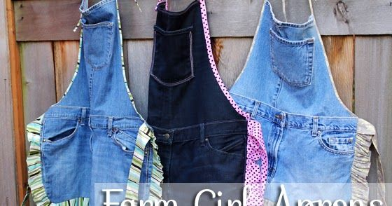 Lots of great ideas for craft projects you can do with old jeans and leftover denim scraps!