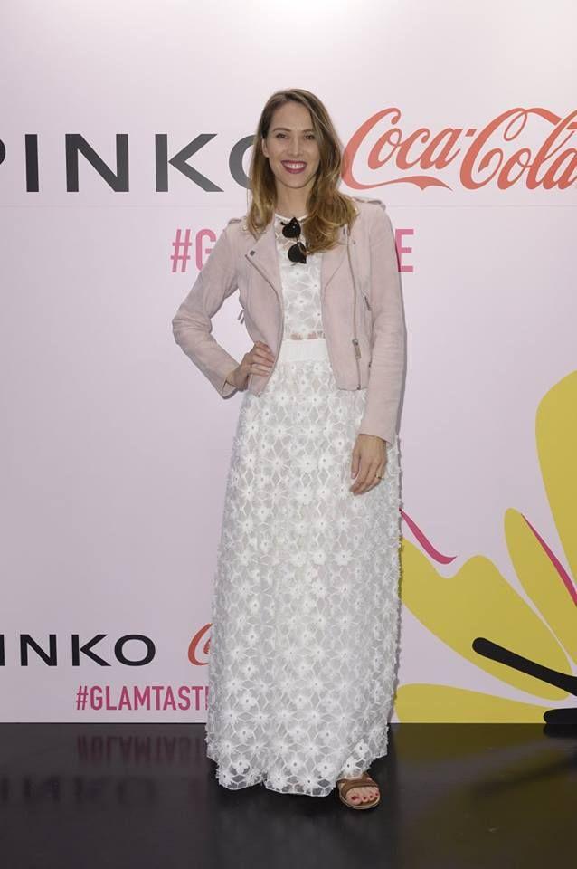 Ludovica Sauer at PINKO and Coca-Cola light #GlamTaste event