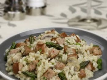 Asparagus And Sausage Risotto Recipe from Allrecipes.com on FoodPair