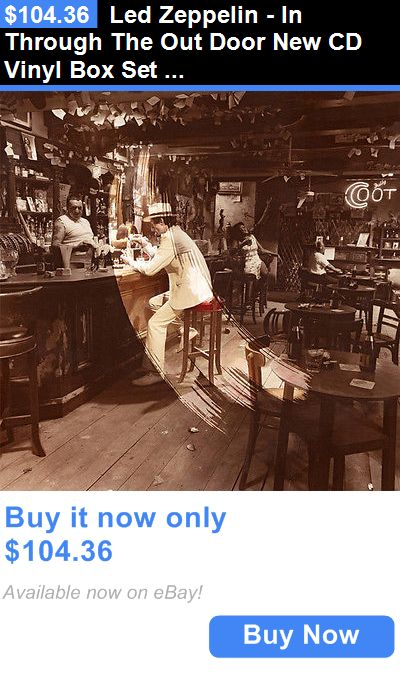 Music Albums: Led Zeppelin - In Through The Out Door New Cd Vinyl Box Set 081227955779 BUY IT NOW ONLY: $104.36