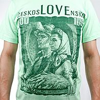 Old czechoslovak banknote t-shirt