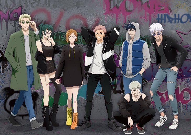 Jujutsu Kaisen On Twitter Jujutsu Anime Boyfriend Anime Guys