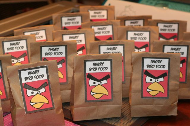 Angry Bird Food