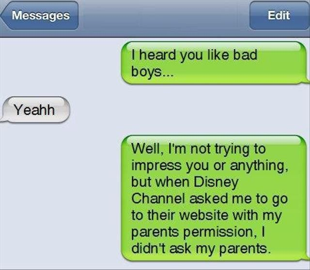 Any guy who is this rebellious would win my heart!: Bad Boys, Giggle, Funny Stuff, Funnies, Humor
