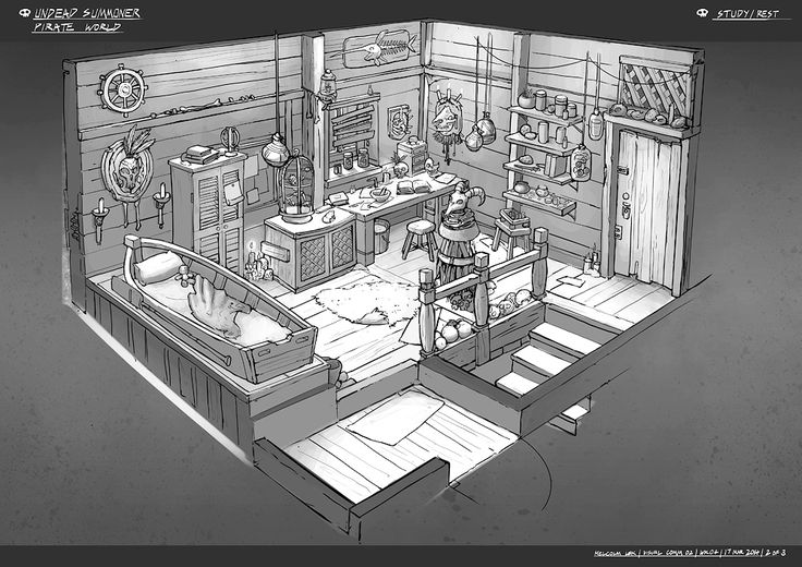 Feng zhu design more old school rpg rooms fzd term 2 for Building interior design software