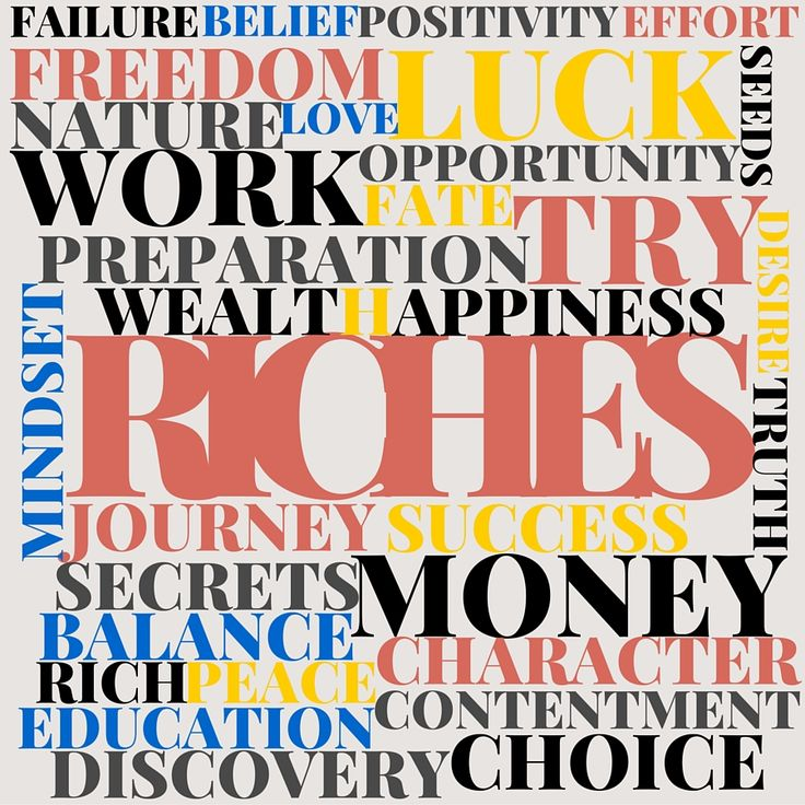 I discovered that becoming wealthy is not a matter of luck, fate or circumstance, but a direct consequence of obeying the guiding principles uncovered for you in RICHES - The 7 Secrets of Wealth you were never told. Get your copy of RICHES to find out more! #Riches #Money #wealth #mindset #freedom #success #choice #business #journey #rich #preparation #work #opportunity #seeds #love
