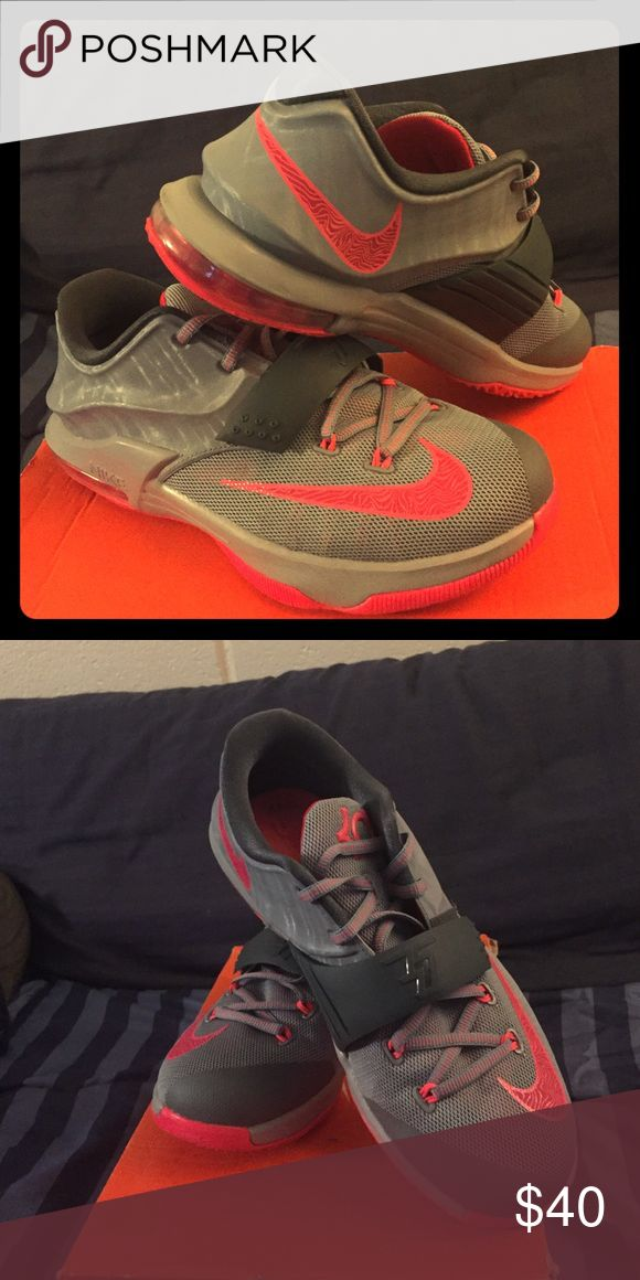 Girl Youth KD sneakers They are a pair of KD youth sneakers, worn about 3 times and still in great condition. Nike Shoes Sneakers