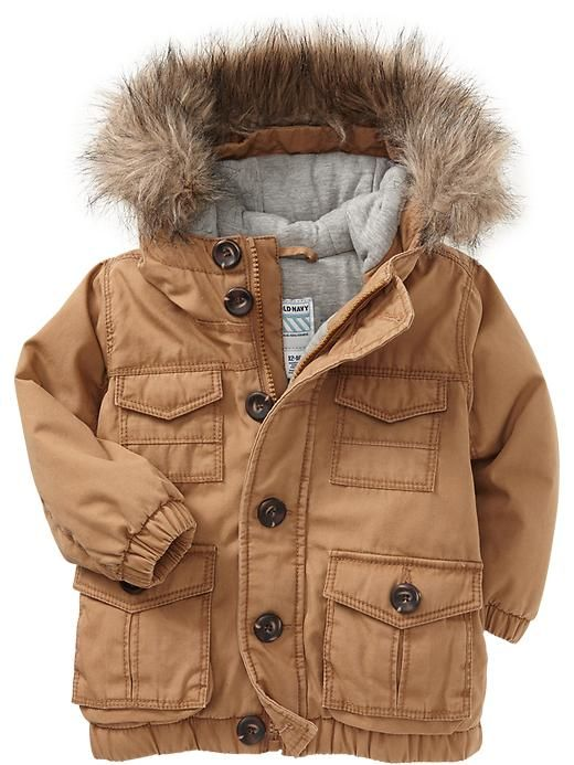 Old Navy | Canvas Snorkel Coats for Baby