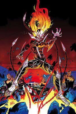 GHOST RIDER #6Los poderes de Robbie están evolucionando de manera inimaginable! ¡El Espíritu de Eli Morrow se está volviendo más fuerte y más cruel cada día! El LAPD no puede ignorar el monstruo demoníaco en su patio trasero más ...