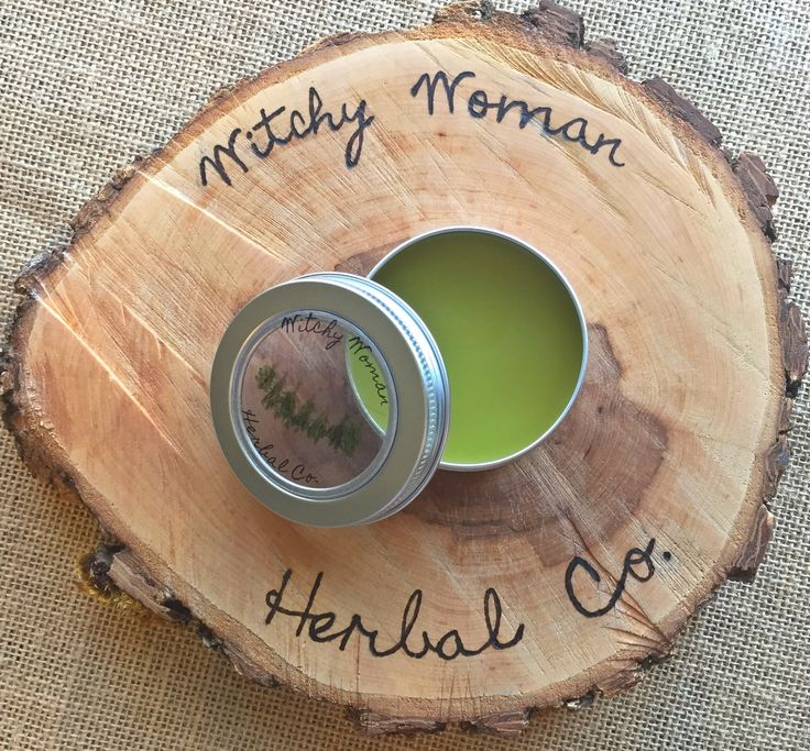 Lady Cramp Salve| Menstrual Pain Relief| Natural, Organic Period Balm for Women by WitchyWomanHerbalCo on EtsyRebecca Taylor