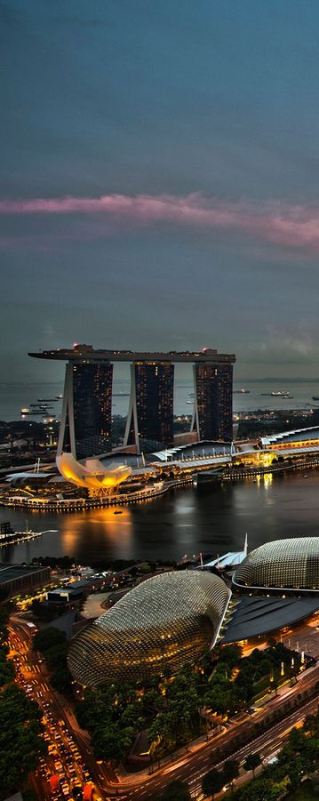 Marina Bay Sands, Singapore #Honeymoon #Travel