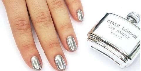 25 Best Ideas About Chrome Nail Polish On Pinterest