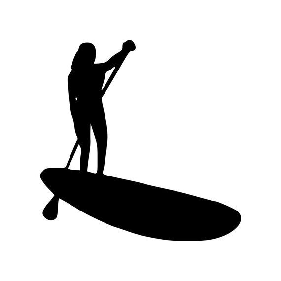 Stand Up Paddle board decal sticker SUP boarding decal sticker SUP it decal