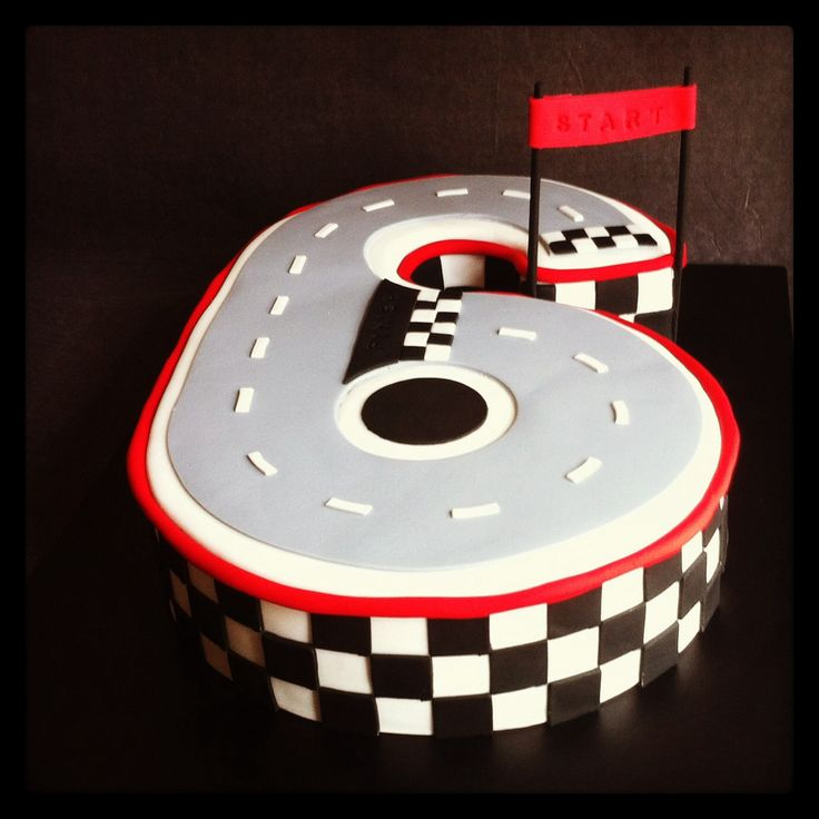 Best 20 Race Track Cake Ideas On Pinterest Car Birthday