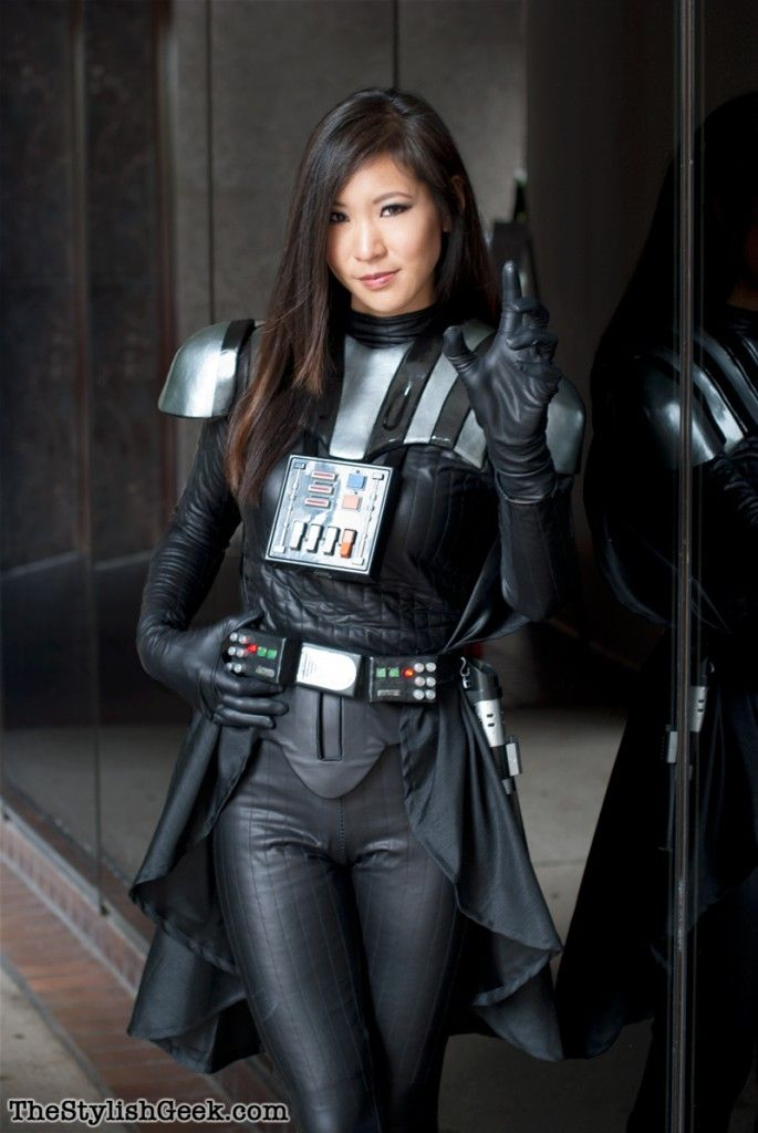 This is so amazing/cute! Lady Vader - (Rule 63 Darth Vader) Cosplay Gallery | the stylish geek