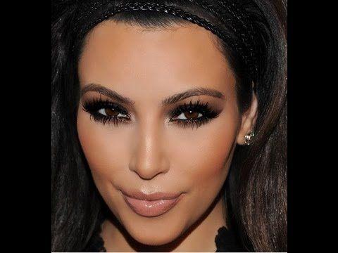 Kim Kardashian smink inspiráció - YouTube