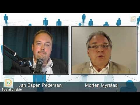 Sosial direkte #1  @Jan Espen Pedersen, @Morten Myrstad, @Knut-Arne Futsæter, @Stein Arne Nistad