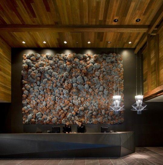 Lampade Allegro di Foscarini in un hotel a Melbourne