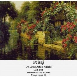 Peisaj de Louis Aston Knight - Kit goblen