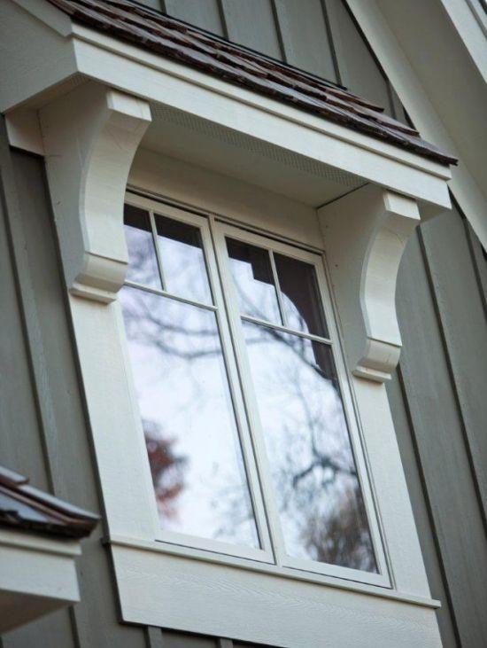 master bedroom door overhang | Exterior PVC Trim Ideas | Pinterest
