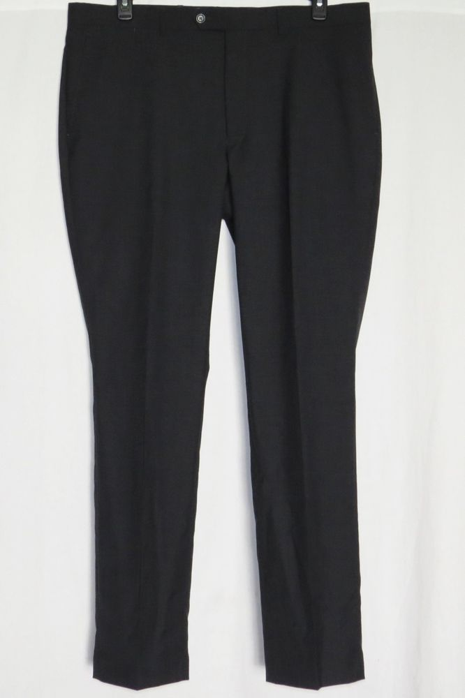 """38X34 DOCKERS Pants Flat Front Battery Street NEW NWT Trim Fit Mens Slacks Suit #DOCKERS #suitpants  #suit BRAND NEW WITH TAGS mens pants by DOCKERS, size 38X34 from the Dockers Battery Street Collection. They are grey trim fit """"Suit Separate"""" bottoms that have 2 front and 2 rear pockets with a flat front"""