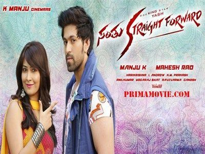 DOWNLOAD SANTHU STRAIGHT FORWARD (2016) 700MB KANNADA MOVIE ONLINE FREE
