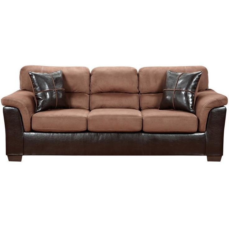 Flash Furniture 6203LAREDOCHOCOLATE-GG Exceptional Designs Laredo Chocolate Microfiber Sofa