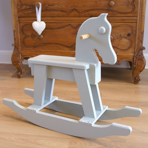 CUTE VINTAGE COUNTRY STYLE ROCKING HORSE, PAINTED FARROW & BALL FRENCH GREY CUTE VINTAGE COUNTRY STYLE ROCKING HORSE, PAINTED FARROW & BALL FRENCH GREY on eBay (end time 06-Jun-12 19:52:51 BST)