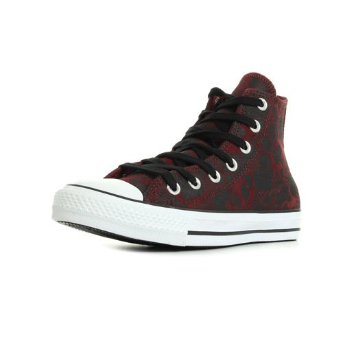 Converse CT Hi Deep/Bordeaux - Réf : 549634C
