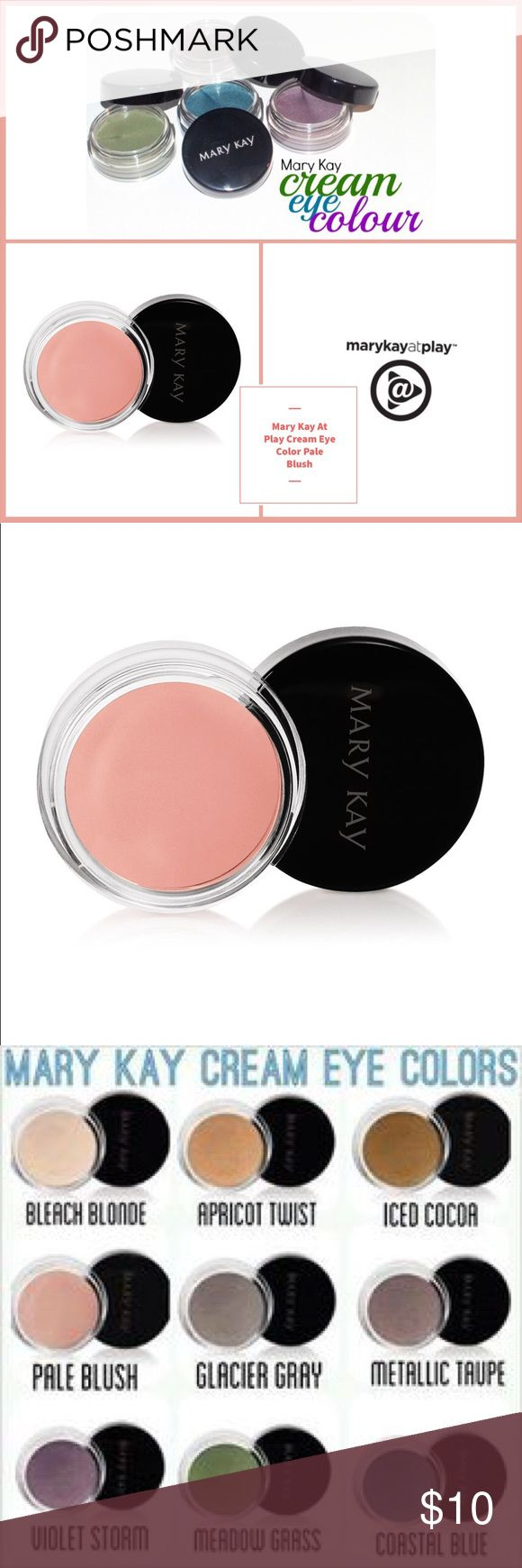 🆕 Mary Kay Cream Eye Color Pale Blush 🆕 Mary Kay Cream Eye Color Pale Blush ▪️This soft, creamy, long-wearing formula glides on easily, lasts for 10 hours and can be applied in multiple layers to deliver more noticeable color while retaining a lightweight feel. ▪️Can be used alone or as a primer under mineral eye color. ▪️Dries quickly & does not transfer. ▪️Oil- and fragrance-free. ▪️Clinically tested for skin irritancy and allergy, suitable for sensitive skin and eyes. ▪️Note: In…