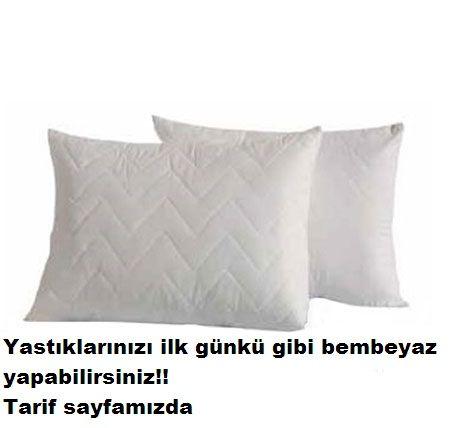 Yastıklarınızı ilk günkü haline döndüren tarif