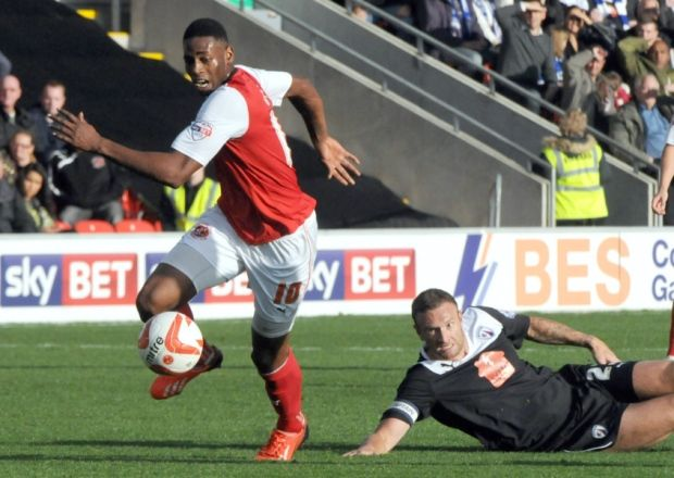 Jamille Matt has become the first of Fleetwood Town's out of contract stars to put pen to paper on a new deal.