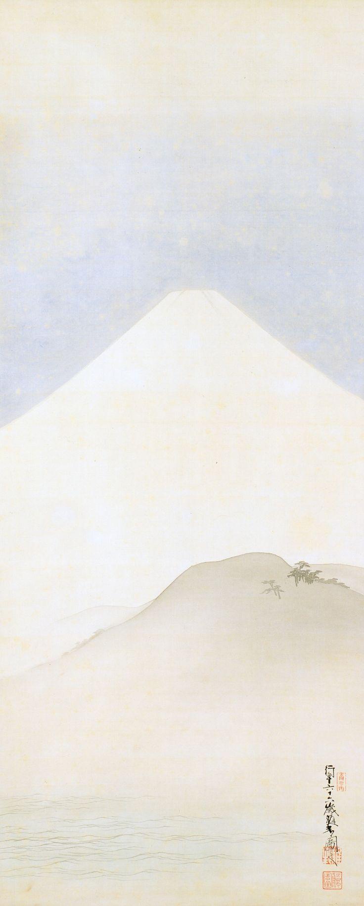 Mount Fuji, 1903 - Hashimoto Gaho (1835-1908)