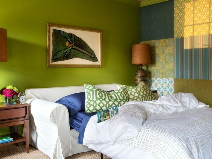 kreative wandgestaltung mit farbe wanddesign ideen indirekte beleuchtung - Kreative Wandgestaltung Mit Farbe