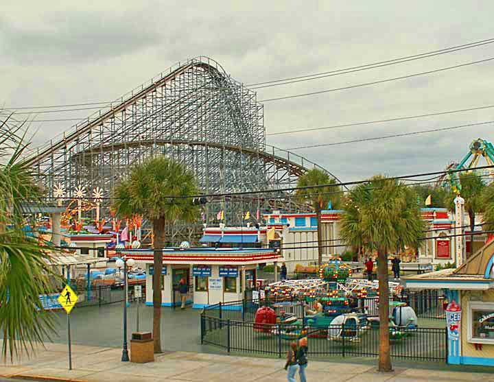 Ten years ago this Fall, locals and tourists saw the Myrtle Beach Pavilion torn down. The most prized real estate in America stands depressed.