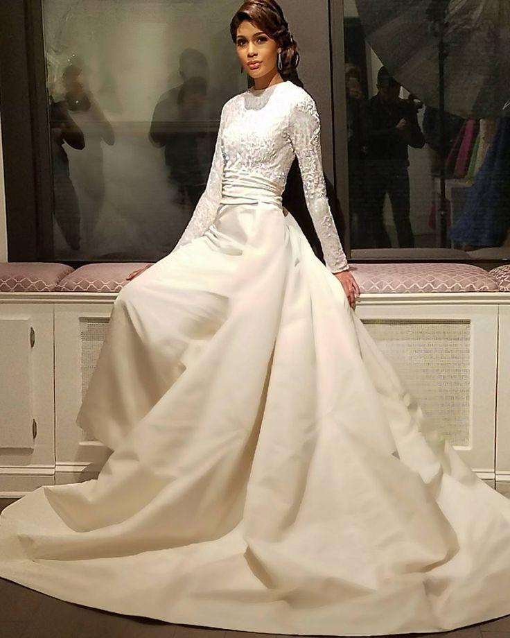 25 best Colored wedding dresses images on Pinterest | Wedding dress ...